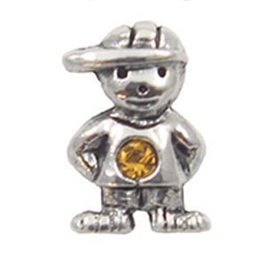 Picture of November Boy Birthstone Charm